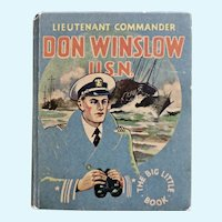 Lieutenant Commander Don Winslow, U.S.N. Big Little Book  1935