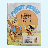 Mickey Mouse and the Dude Ranch Bandit, Better Little Book