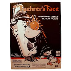 der Fuehrer's Face, Sheet Music, WWII