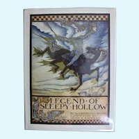 The Legend of Sleepy Hollow, Washington Irving, Illustrated by Arthur Rackham