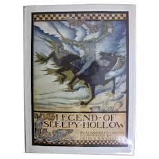 The Legend of Sleepy Hollow, Washington Irving, Illustrated by Arthur Rackham