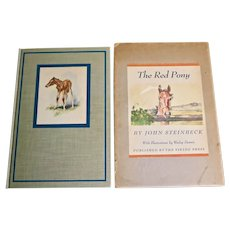 The Red Pony, 1st Illustrated Edition, 1945