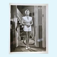 Lana Turner vintage black and white photograph