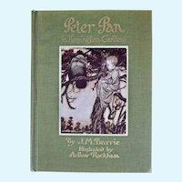 Peter Pan in Kensington Gardens, 1940 Edition, Arthur Rackham