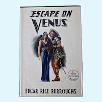 Escape on Venus, Edgar Rice Burroughs, First Edition