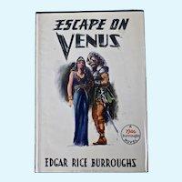Escape on Venus, Edgar Rice Burroughs, First Edition