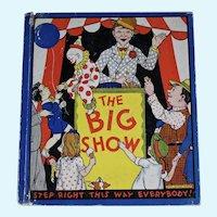 The Big Show, circus book. 1933