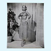 Franca Faldini Black & White Portrait Photograph, Italian Born Actress