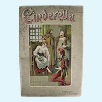 """CINDERELLA"" honeycomb Victorian pop-up book, ca: 1890 (undated)"