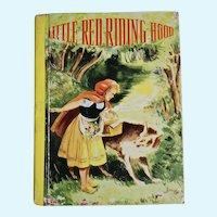 Little Red Riding Hood book, 1941