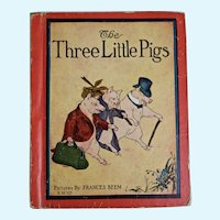 The Three Little Pigs book, 1933
