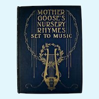 Mother Goose's Nursery Rhymes Set To Music book