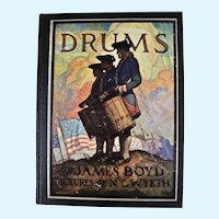 DRUMS by James Boyd and published by Scribner,1928