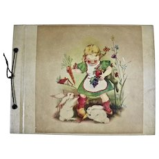 Easter Postcard Album early 1900's