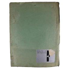 """Pathe' Studios Publication """"Pathe' 1930-31"""""""