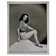 Elizabeth Taylor Black & White studio portrait photograph