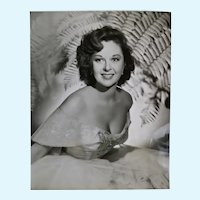 Susan Hayward black and white portrait photograph