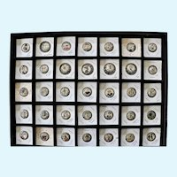 Cigarette Advertising Celluloid Pinback Buttons