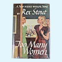 Too Many Women, A Nero Wolfe Novel, 1947