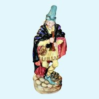 Royal Doulton porcelain figurine, THE PIED PIPER of Hamlin, 1952