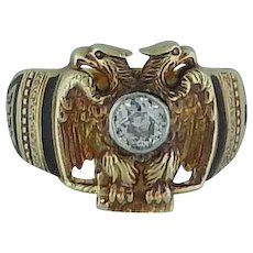 32nd Degree Masonic Ring