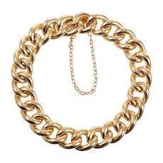 18 KT Vintage Link Bracelet