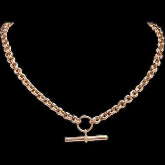 Antique T-Bar Necklace / Bracelet