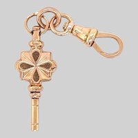 Antique Key Winder Fob / Pendant