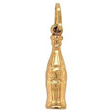 Vintage Coca Cola Bottle Charm / Pendant