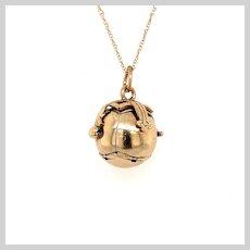 Vintage English Masonic Orb pendant