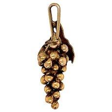 Antique Grapes Pendant / Charm