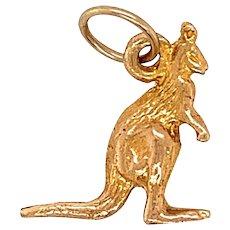 Vintage 9KT Gold Kangaroon Charm
