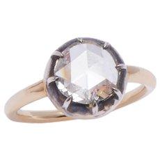 Georgian Style Rose Cut Diamond Ring