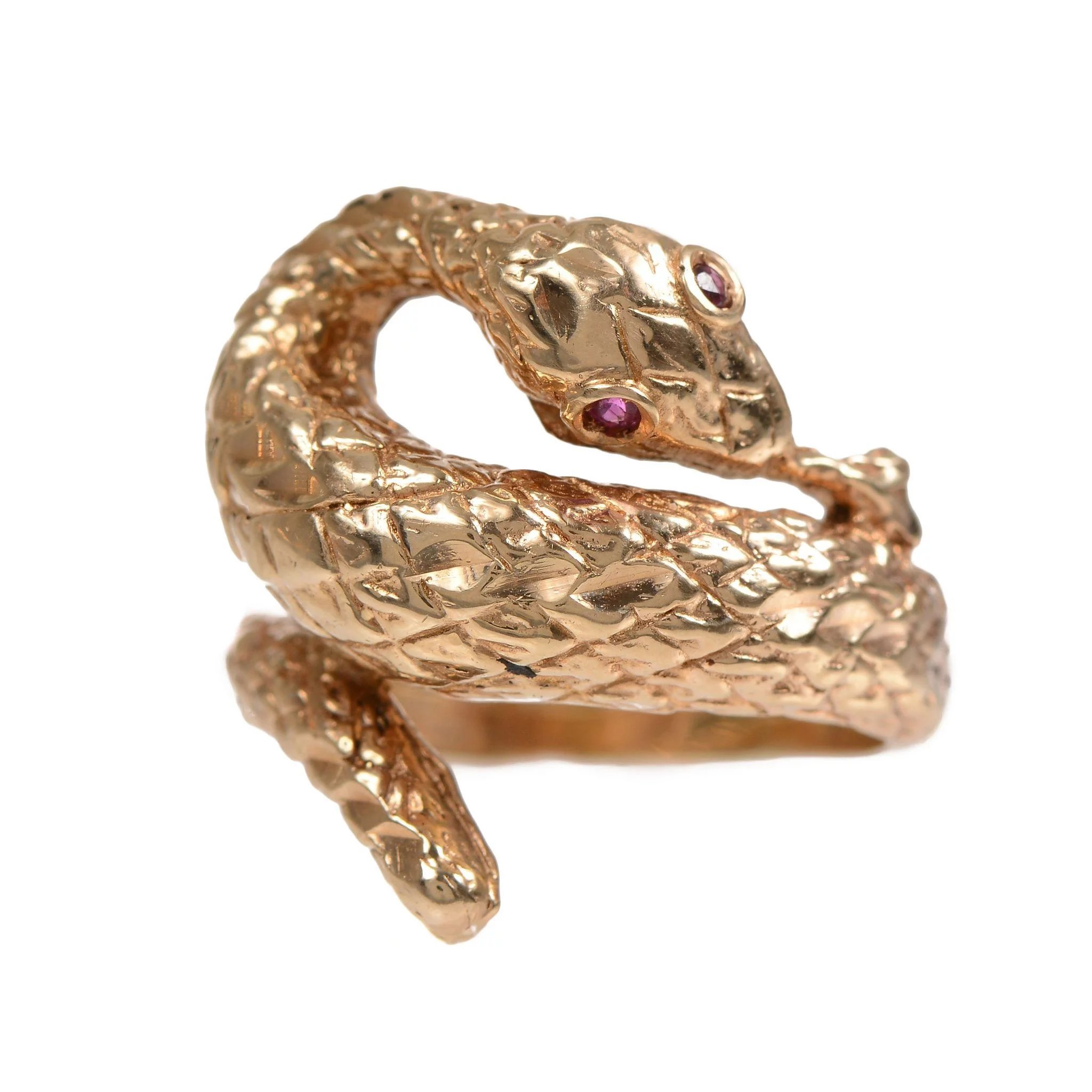 class ring nouveau and love art vintage serpent signet pin rings antique