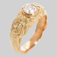 18 KT Garden of Eden Diamond Ring