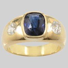 Triple Stone Gypsy Ring