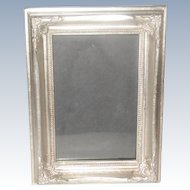 Wooden Silver Frame 20th Century