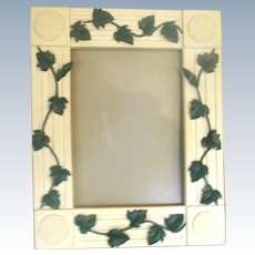 Resin Vine Motif Frame 20th Century