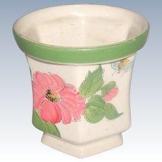 Vintage Weiss Vase Hand Painted Brasil