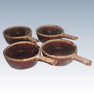 Vintage McCoy Stoneware Soup Bowls