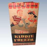 Vintage Kiddie Ice Cream Maker