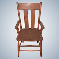 C.1900 Child's Oak Arm Chair