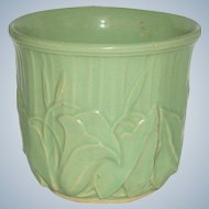 Early 20th C McCoy Pottery Vase