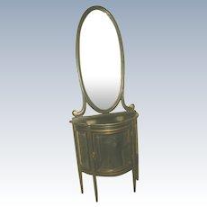 Italian China & Mirror 18th C Parlor Set