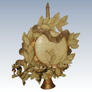 Carved Wooden Sconce Italy 2 Display Options Mid 20th C