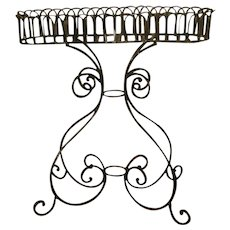 Wrought Iron Planter Large Early 1900's