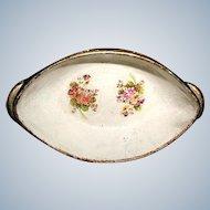 Austrian Papier Mache Bowl C.19th Century