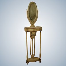 Rare French Vanity C.1785-1820 With Mirror