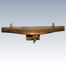 Italian Console Shelf Original Gilt Early 19th C