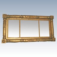 Federal Gilt Mirror Early 1800's England